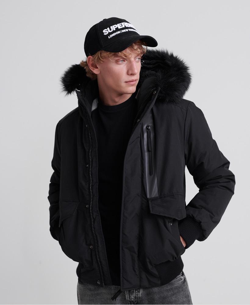 Superdry Everest Bomber Black